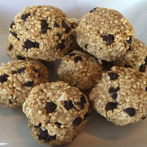 no bake quinoa bites