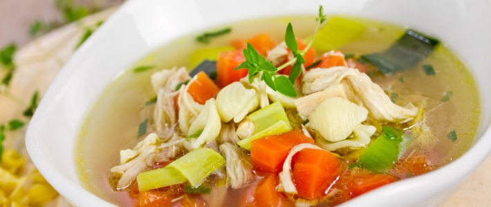Healthy Chicken Soup Recipe – Ready In Just Minutes!