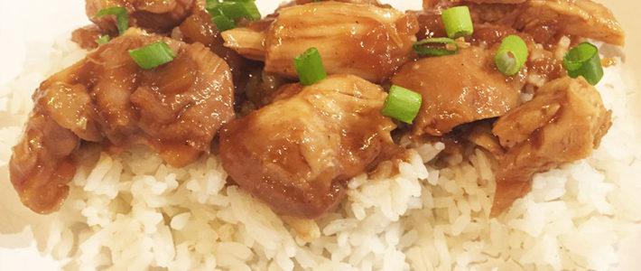 Instant Pot Chicken Teriyaki