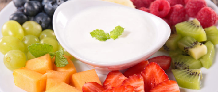 honey vanilla fruit dip