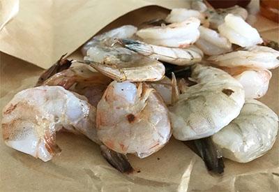 honey sriracha shrimp