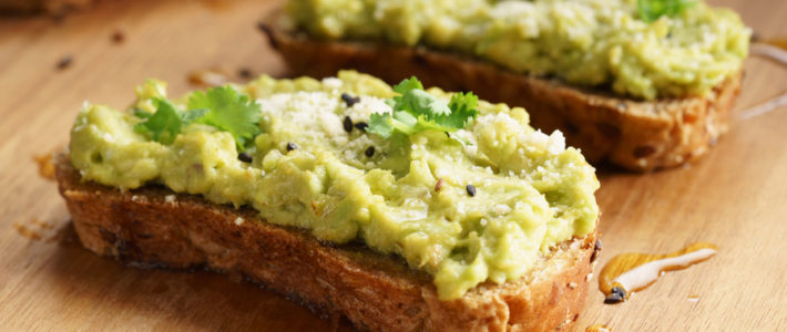 avocado smash toast
