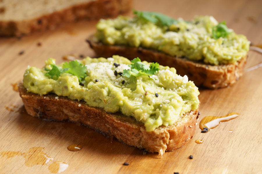 avocado smash toast