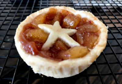 muffin tin apple pie