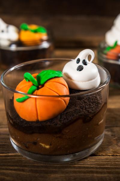 halloween dirt pudding