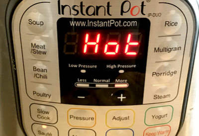 instant pot chicken noodles over mashed potatoes