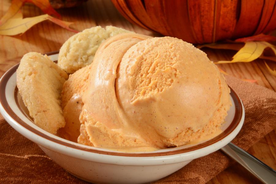 instant pot banana pumpkin ice cream