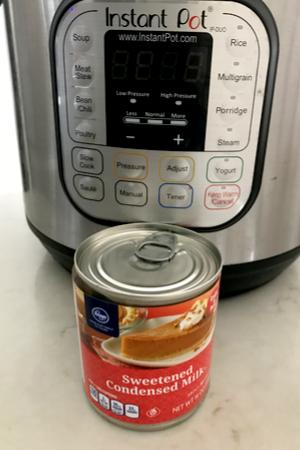 Instant Pot Caramel