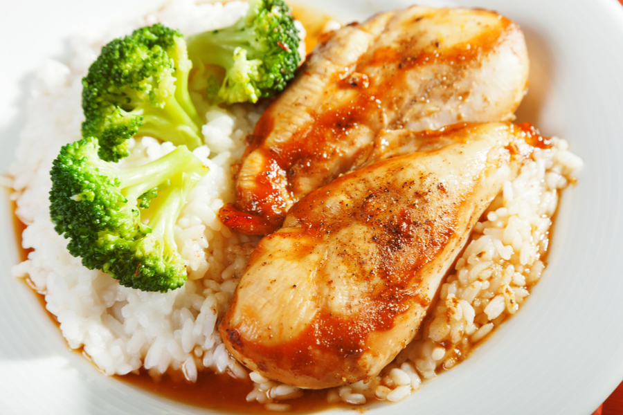 Not only that, but both chicken and rice require a natural pressure release after the cooking time expires.