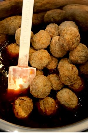 instant pot appetizer meatballs