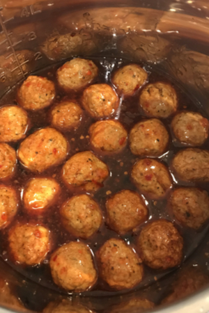 instant pot appetizer meatballs