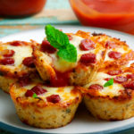 pizza muffin bites