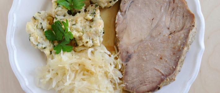 instant pot pork loin, sauerkraut