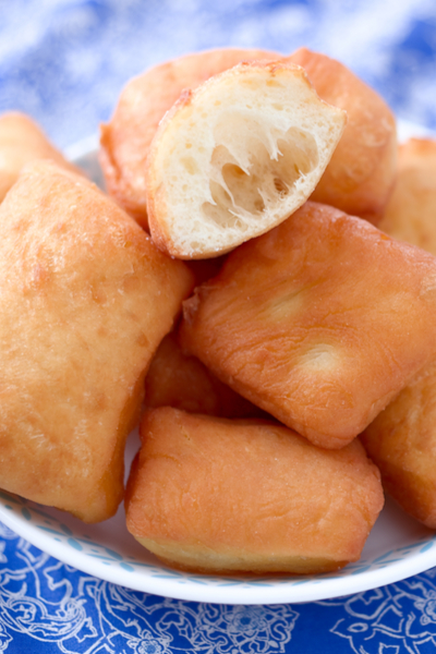 baked beignets