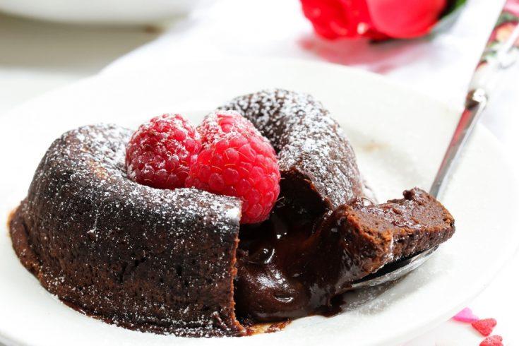 instant pot lava cake