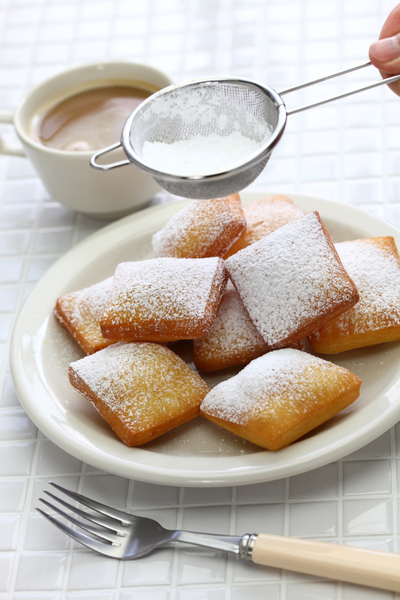 baked beignets