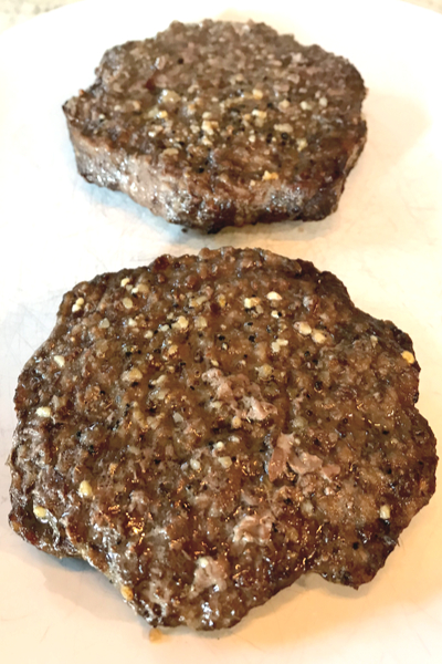air fryer frozen hamburgers