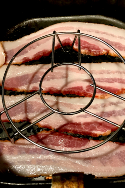 air fryer bacon with trivet