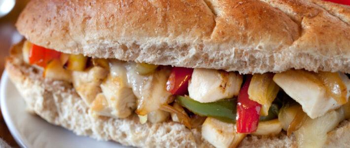 Chicken Philly Sandwich Recipe