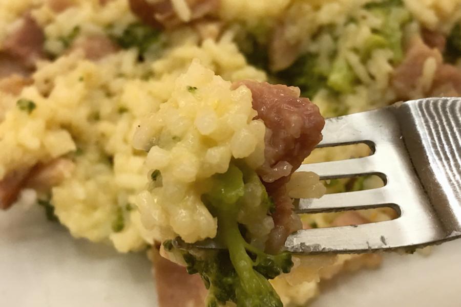 ham and broccoli rice