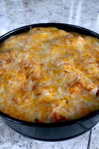 Instant Pot enchilada casserole