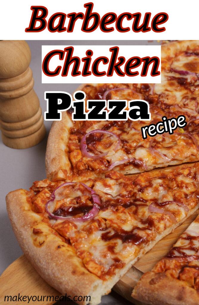 Barbecue Chicken Pizza Pinterest