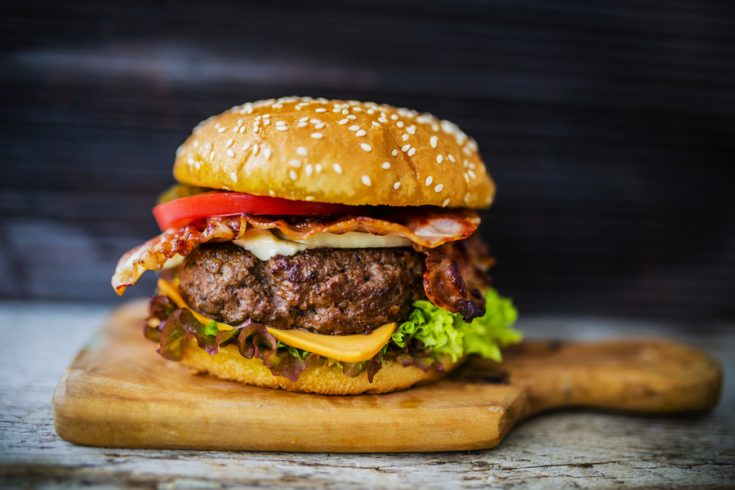 The BEST Homemade Grilled Hamburgers