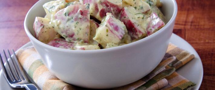 Instant Pot Dill Pickle Potato Salad Recipe