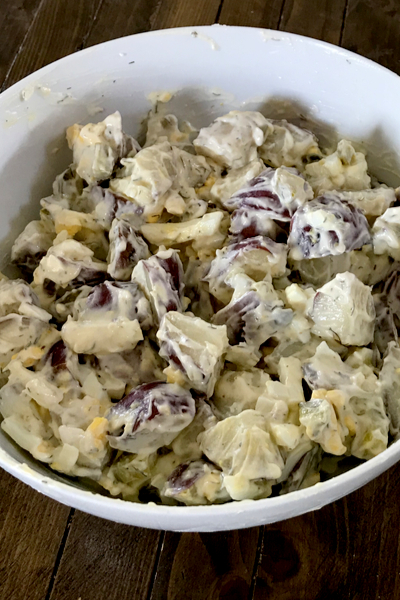 instant pot dill pickle potato salad