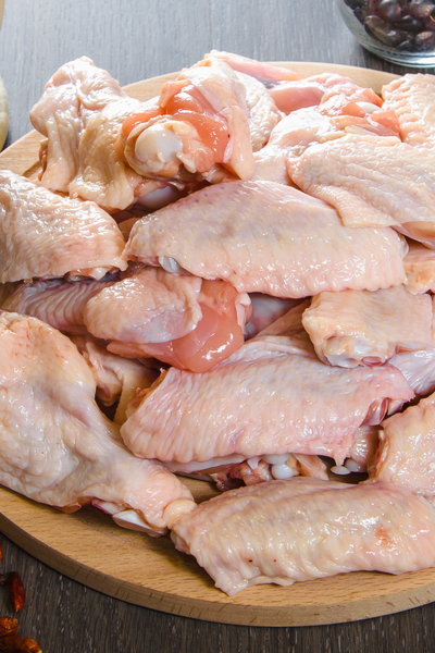 thawed chicken wings