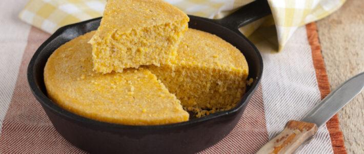 Southern Skillet Cornbread Recipe