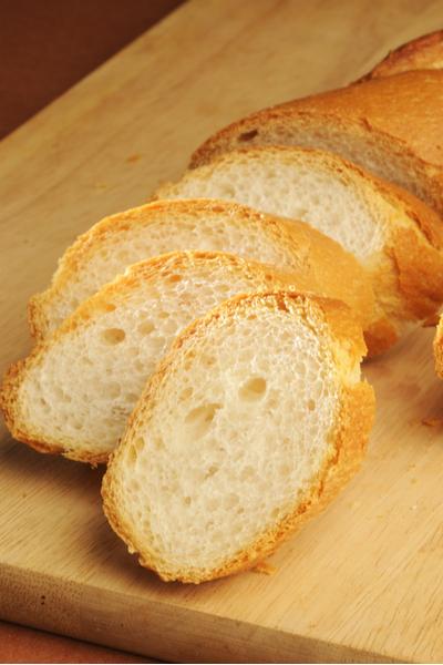 sliced Italian bread