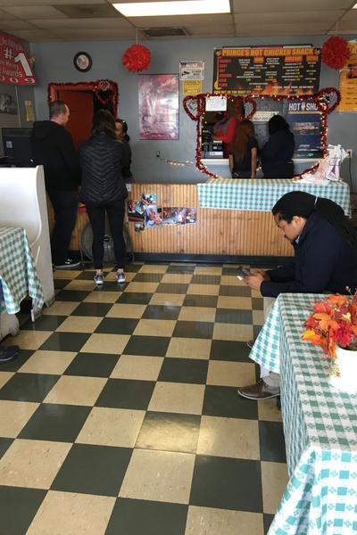 Princes Hot Chicken shack