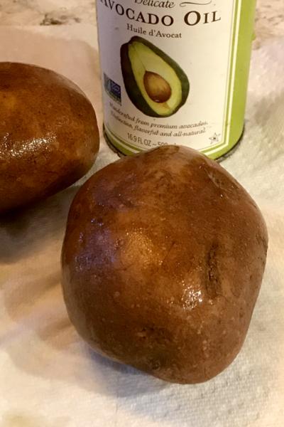 air fryer baked potato in avocado oil
