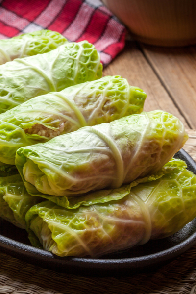 cabbage roll leaves