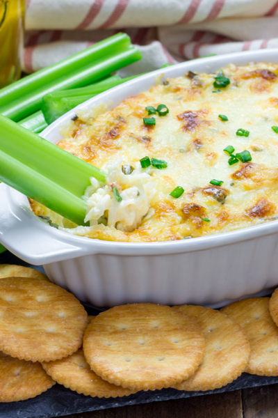 baked bacon cream cheese dip