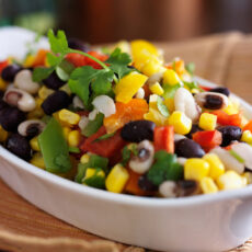Cowboy Caviar Recipe- A Colorful & Hearty Appetizer or Meal