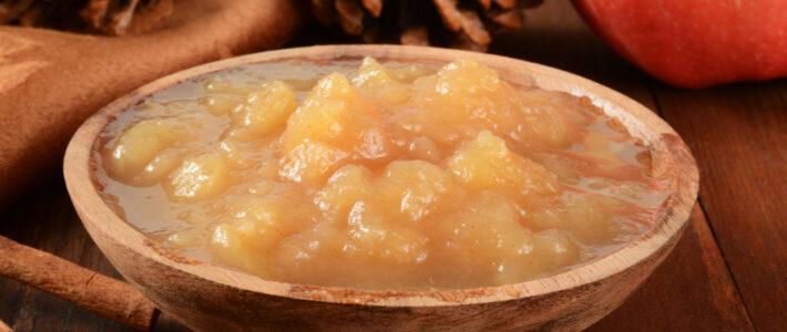Slow Cooker Cinnamon Applesauce Recipe