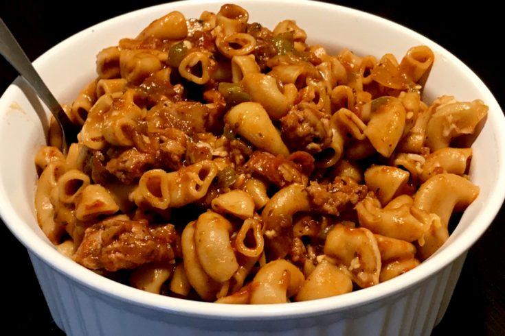 Instant Pot Johnny Marzetti Recipe