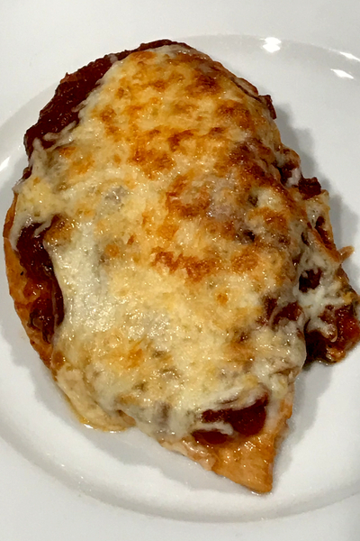 Instant Pot Chicken Parmesan