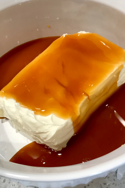 cream cheese caramel