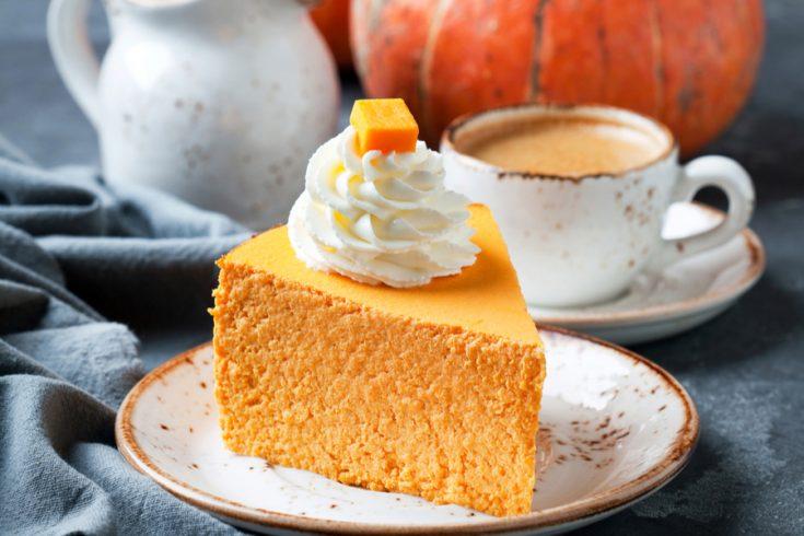 No Bake Pumpkin Cheesecake