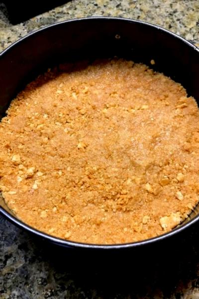 no bake pumpkin cheesecake crust