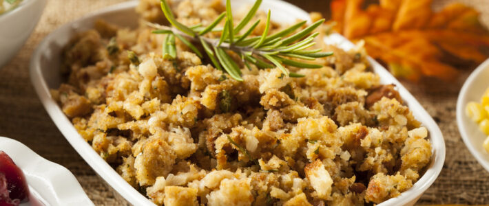 Slow Cooker Thanksgiving Stuffing Recipe