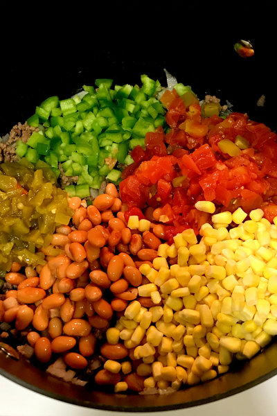 easy taco soup ingredients