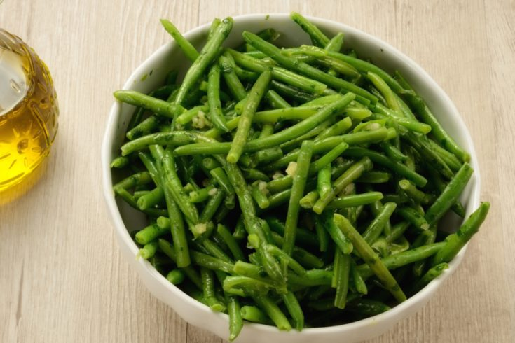 Instant Pot Garlic Green Beans
