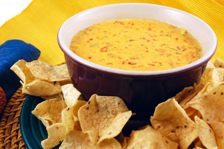 Spicy Rotel Queso Dip Recipe