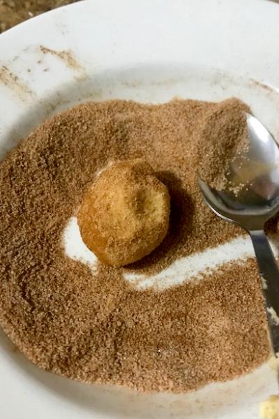 cinnamon sugar mixture