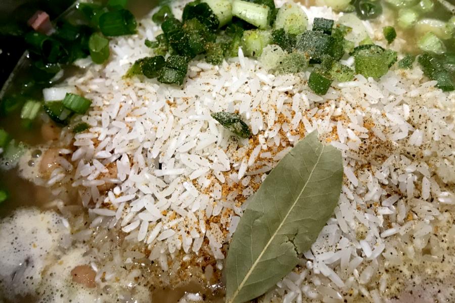 rice for jambalaya