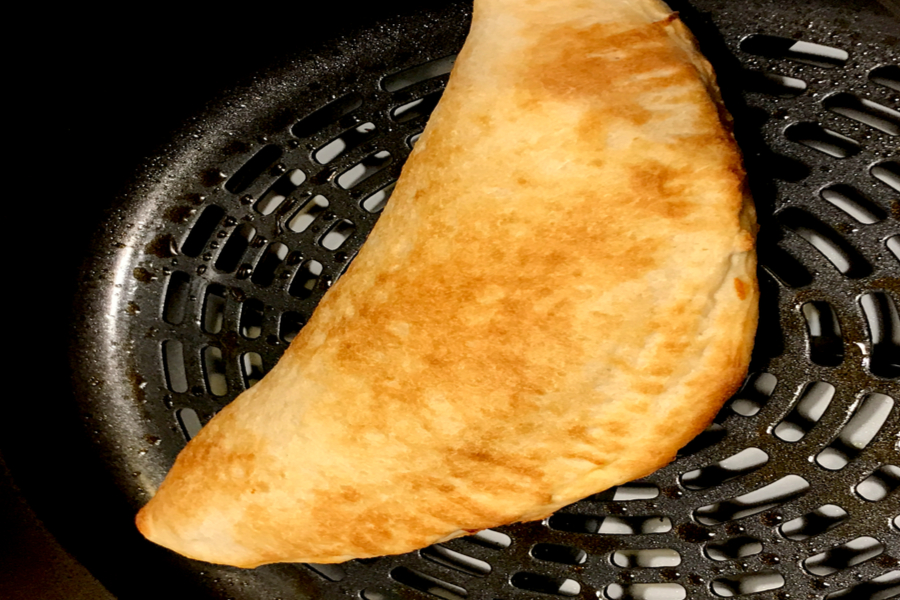 air fryer calzone